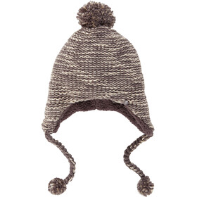 The North Face Fuzzy Earflap Beanie Rabbit Grey/Peyote Beige